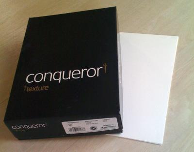 Conqueror A4 Blanc Coton